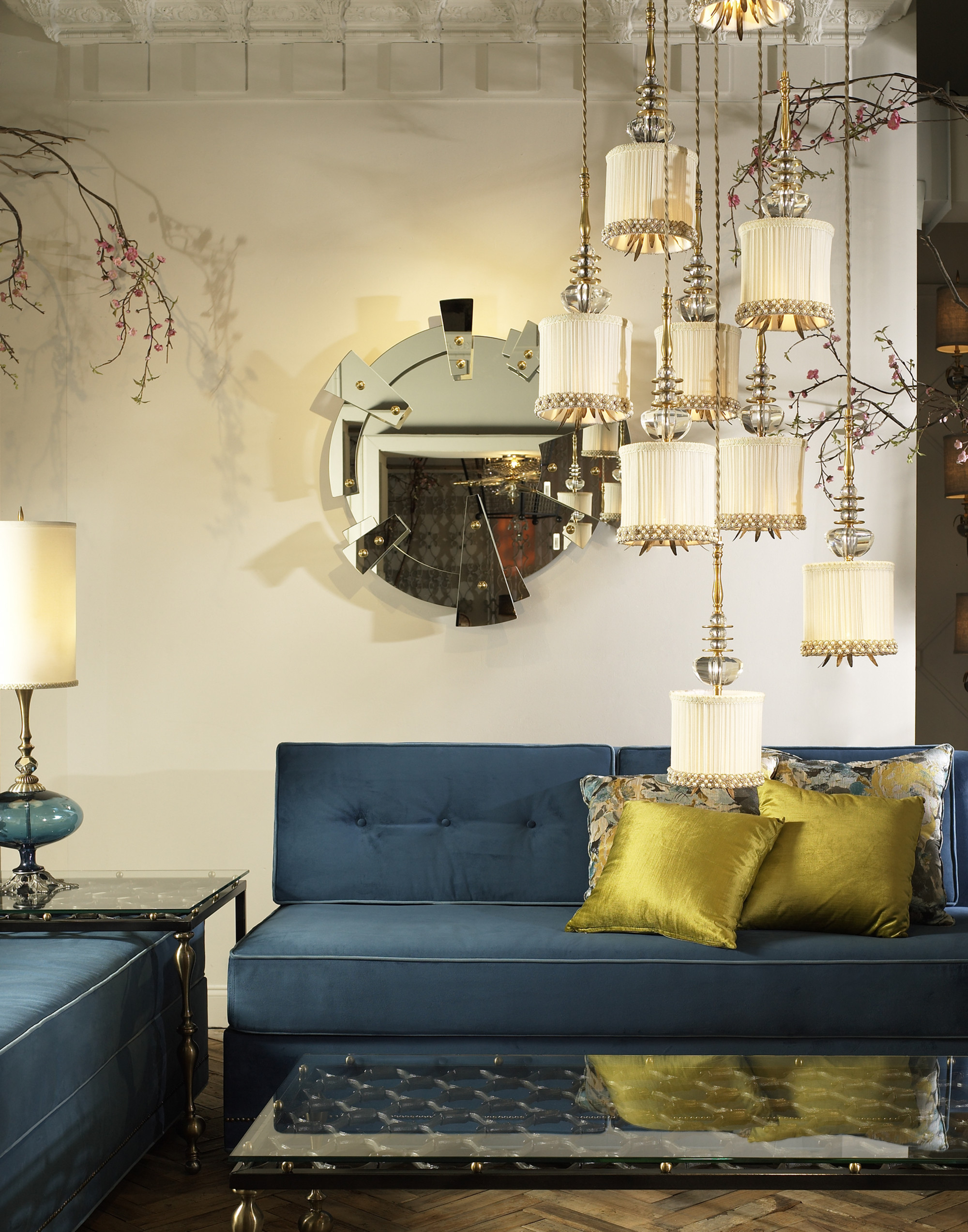 Largo Sofa and Giverny Chandelier – Copy