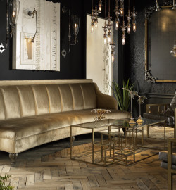 Orion Sofa, Cordoba Chairs, Chapelle, Muir Desk