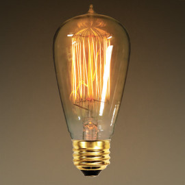 Edison 40-watt light bulb