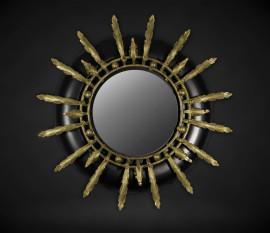 Round black mirror bb